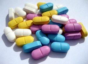 разноцветные пилюли
