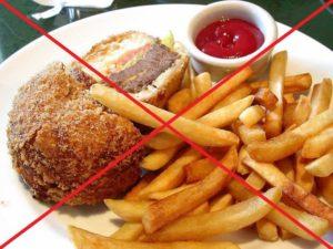 запрет жареного и жирного