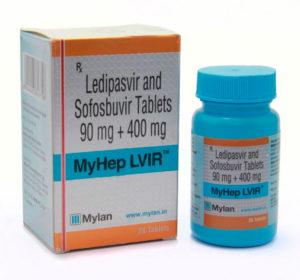 Гепатит С: лечение современными дженериками MyHep, Лекарство от гепатита С в России