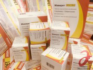Мавирет – эффективное средство из зарубежных стран для лечения гепатита С, Лекарство от гепатита С в России