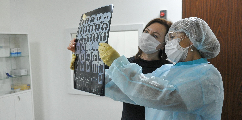 Эффект матового стекла в легких