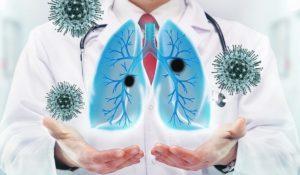 Восстановление функции легких, Вирусные заболевания